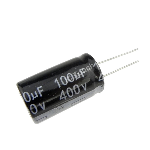 100uF 400V 16x30mm Radial Electrolytic Capacitors