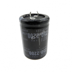2200uF 250V 35x52mm Radial Electrolytic Capacitors SNAP IN CAP