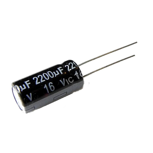 2200uF 16V 10x20mm Radial Electrolytic Capacitors