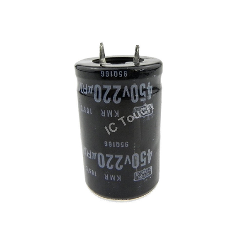 220uF 450V 25x40mm Radial Electrolytic Capacitors SNAP IN CAP