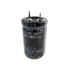 470uF 250V 22x36mm Radial Electrolytic Capacitors SNAP IN CAP