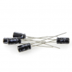 1uF 50V 5x11mm Radial Electrolytic Capacitors