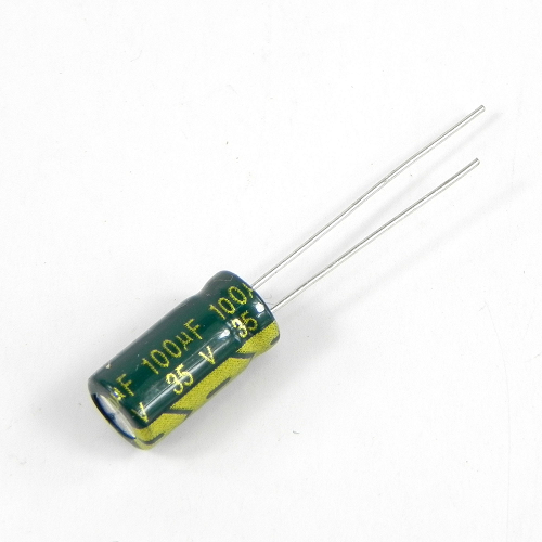 100uF 35V 6.3x12mm Electrolytic Radial High Frequency Capacitor LOW ESR
