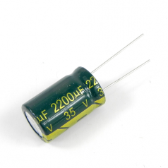 2200uF 35V 16x25mm Electrolytic Radial High Frequency Capacitor LOW ESR