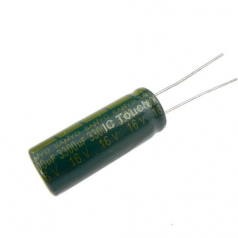 3300uF 16V 10x25mm Electrolytic Radial High Frequency Capacitor LOW ESR