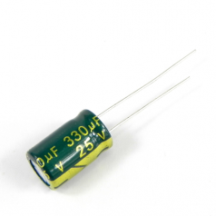330uF 25V 8x12mm Electrolytic Radial High Frequency Capacitor LOW ESR