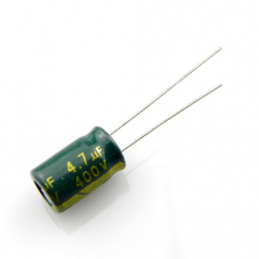 4.7uF 400V 8x12mm Electrolytic Radial High Frequency Capacitor LOW ESR