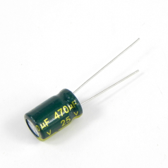 470uF 25V 8x12mm Electrolytic Radial High Frequency Capacitor LOW ESR