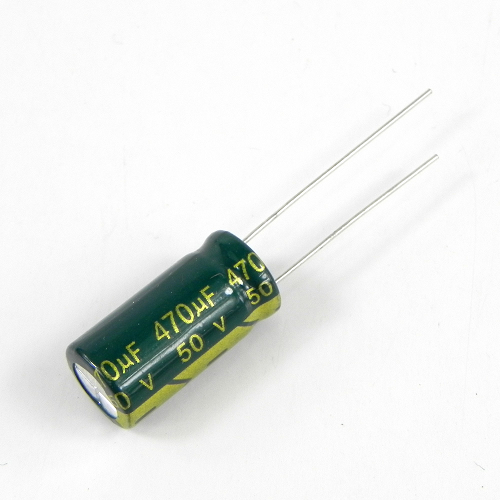 470uF 50V 10x20mm Electrolytic Radial High Frequency Capacitor LOW ESR