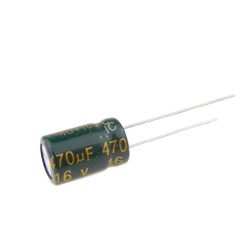 470uF 16V 8x12mm Electrolytic Radial High Frequency Capacitor LOW ESR