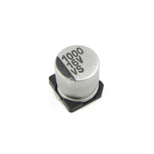 1000uF 16V 10x10mm SMD Aluminum Electrolytic Capacitors