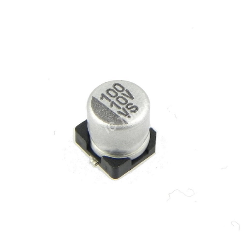 100uF 10V 5x5mm SMD Aluminum Electrolytic Capacitors