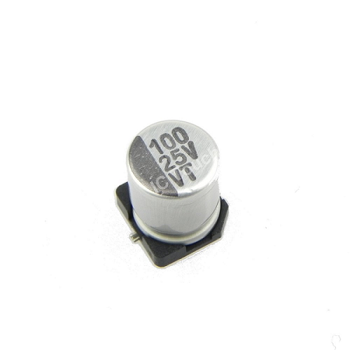 100uF 25V 6x7mm SMD Aluminum Electrolytic Capacitors