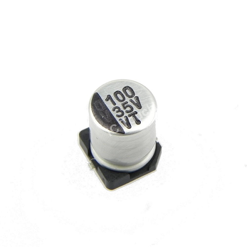 100uF 35V 6x7mm SMD Aluminum Electrolytic Capacitors