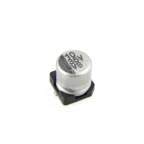 10uF 35V 5x5mm SMD Aluminum Electrolytic Capacitors