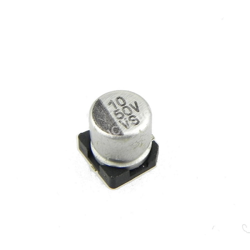 10uF 50V 5x5mm SMD Aluminum Electrolytic Capacitors