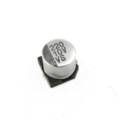 220uF 10V 6x5mm SMD Aluminum Electrolytic Capacitors