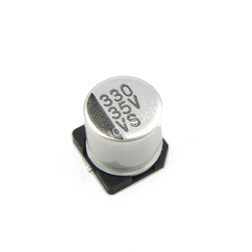 330uF 35V 10x10mm SMD Aluminum Electrolytic Capacitors