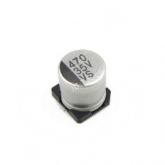 470uF 35V 10x10mm SMD Aluminum Electrolytic Capacitors