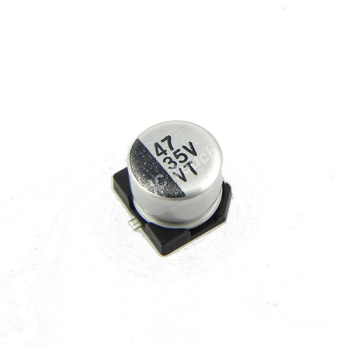 47uF 35V 6x5mm SMD Aluminum Electrolytic Capacitors