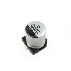 47uF 50V 6x7mm SMD Aluminum Electrolytic Capacitors