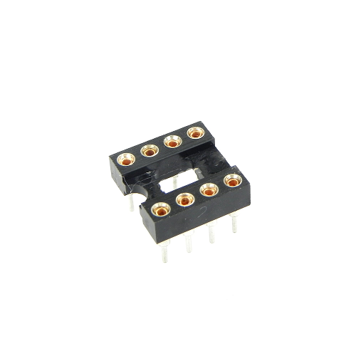 8-Pin DIP IC Sockets Adaptor Round Type Socket PCB 2.54mm Pitch