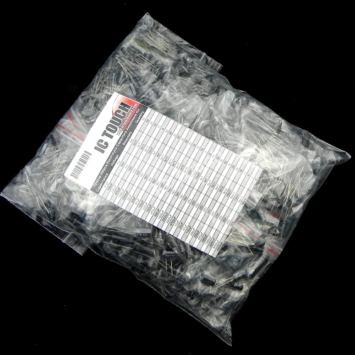 70value 1200pcs Electrolytic Capacitor Assortment Kit KIT0088