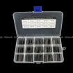 15value 75pcs Resistor Network 10-Pin Bus Assortment Kit KIT0168