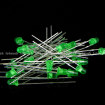 3mm Emerald Green Round Diffused Emerald Green LED Light Lamp