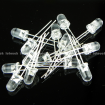 10value 150pcs (R,Y,G,B,W) 3mm 5mm Round Waterclean Light LED Box Kit KIT0059