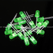 5mm Emerald Green Round Diffused Emerald Green LED Light Lamp