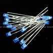 3mm Blue Flat Top Diffused Blue LED Light Lamp