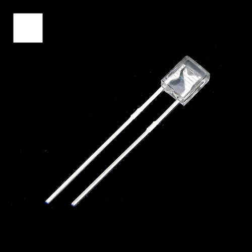 2x3x4mm White Rectangle Waterclean White LED Light Lamp