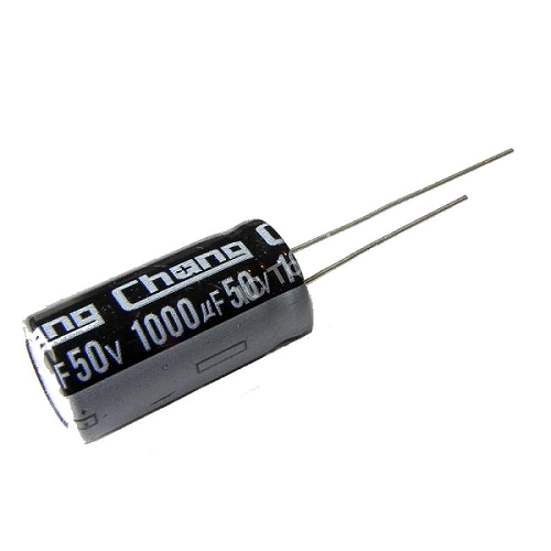 1000uF 50V 13x25mm Radial Electrolytic Capacitors