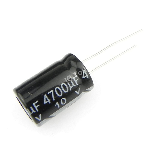 4700uF 10V 13x21mm Radial Electrolytic Capacitors