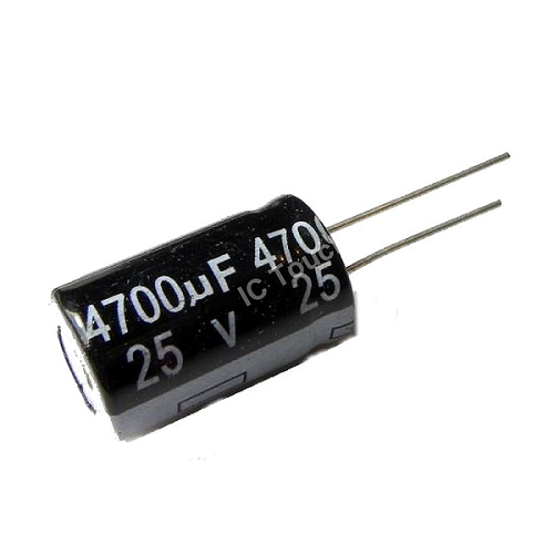 4700uF 25V 16x25mm Radial Electrolytic Capacitors