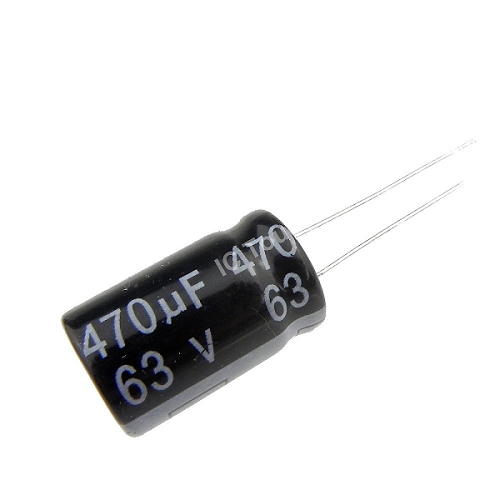 470uF 63V 13x20mm Radial Electrolytic Capacitors