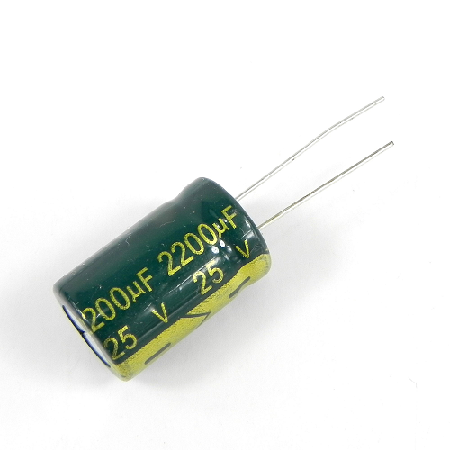 2200uF 25V 13x21mm Electrolytic Radial High Frequency Capacitor LOW ESR