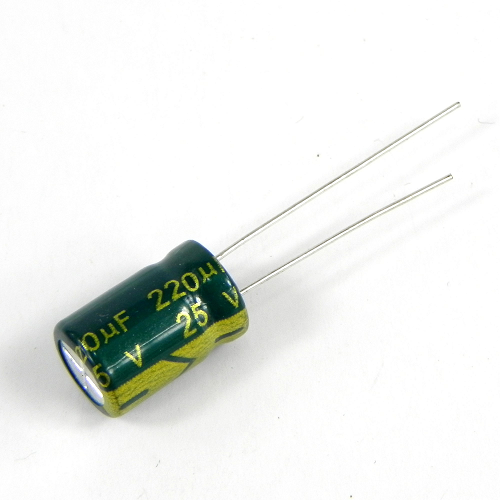 220uF 25V 8x12mm Electrolytic Radial High Frequency Capacitor LOW ESR