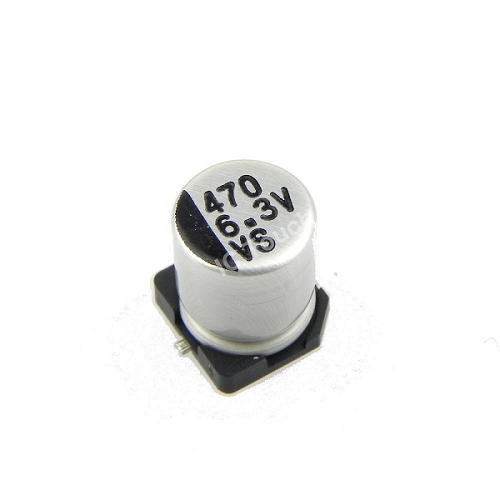 470uF 6.3V 6x7mm SMD Aluminum Electrolytic Capacitors