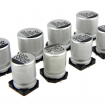 10value 100pcs SMD Aluminum Electrolytic Capacitors Assortment Box Kit (L Size) KIT0047