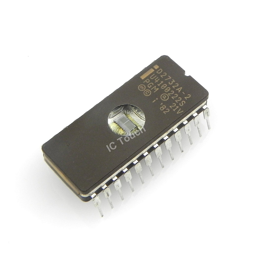 D2732A-2 32K 200NS EPROM IC Intel Corporation CDIP-24