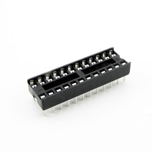 24-Pin-n DIP IC Sockets Adaptor General Type Socket PCB 2.54mm Pitch