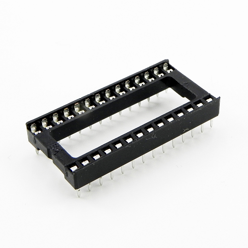 28-Pin-w DIP IC Sockets Adaptor General Type Socket PCB 2.54mm Pitch