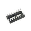 16-Pin DIP IC Sockets Adaptor Round Type Socket PCB 2.54mm Pitch