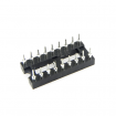 18-Pin DIP IC Sockets Adaptor Round Type Socket PCB 2.54mm Pitch